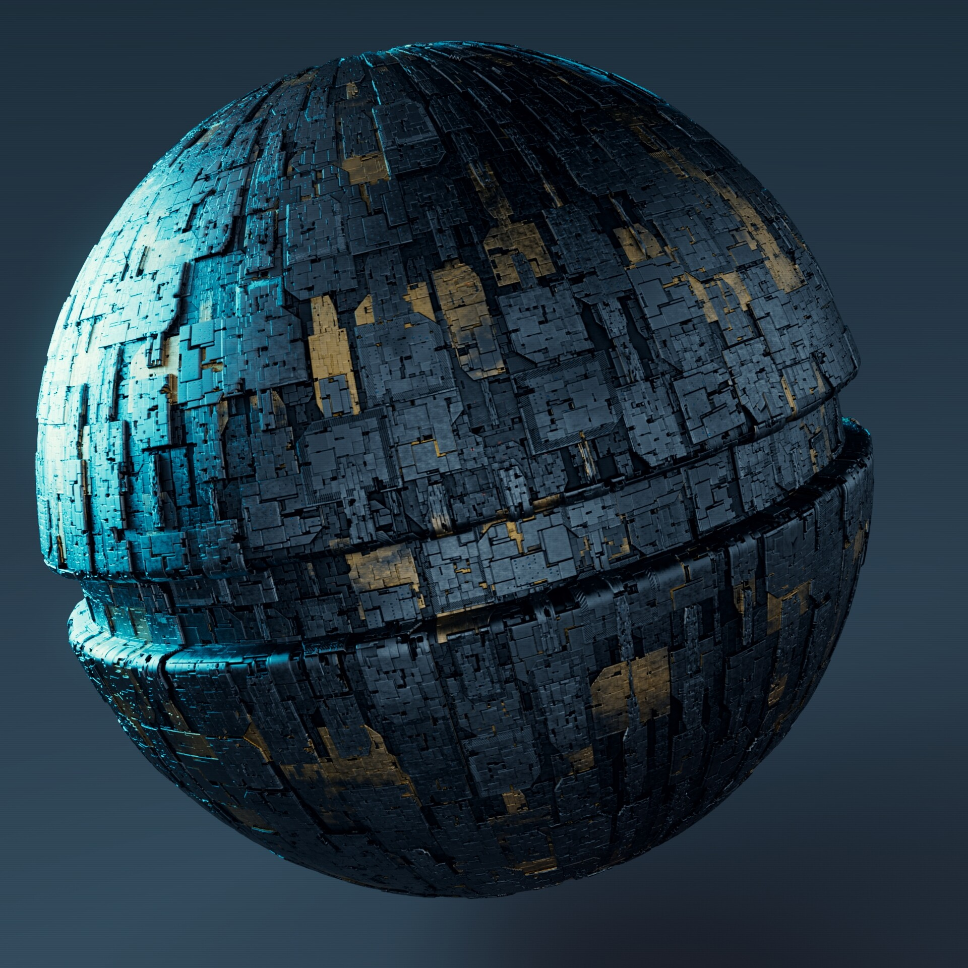 Rendered in RedShift over a simple base model 8k maps + 4x Tiling