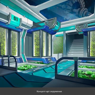 Natalya zakharova 9 scifi interior