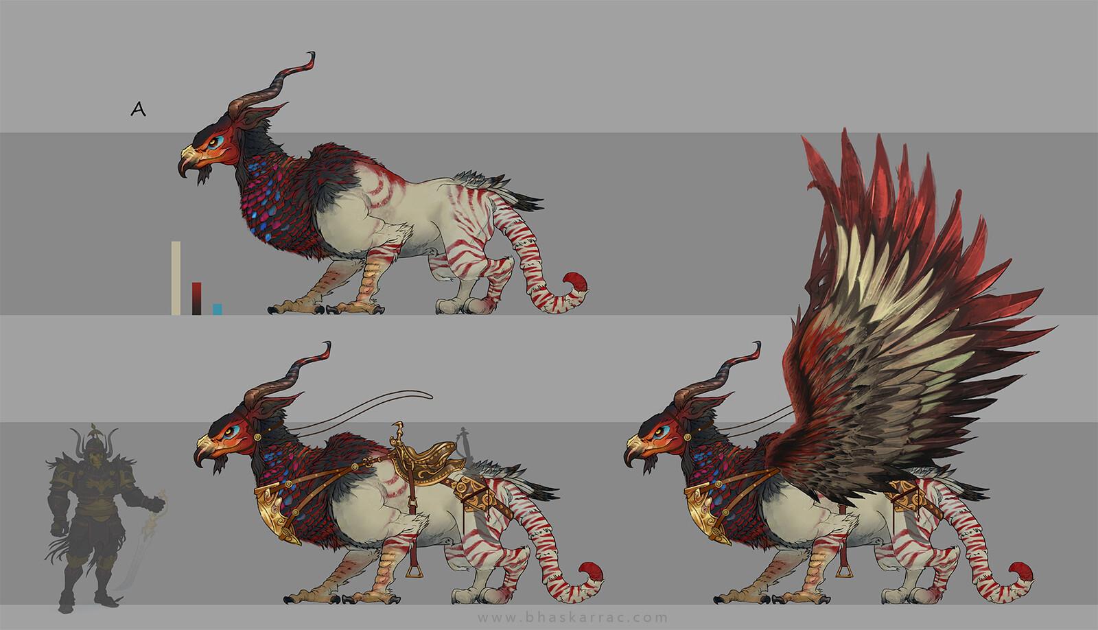 Creature Colour pass 01