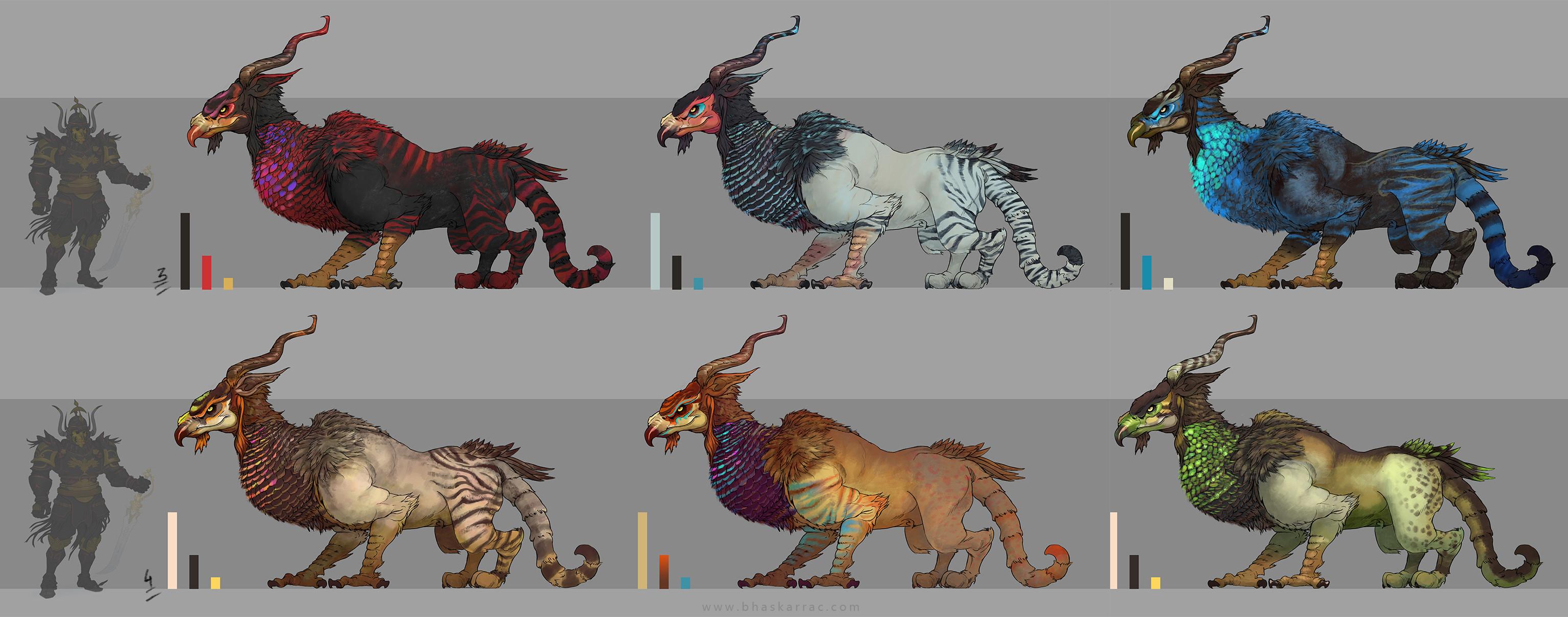 Creature Colour pass 07
