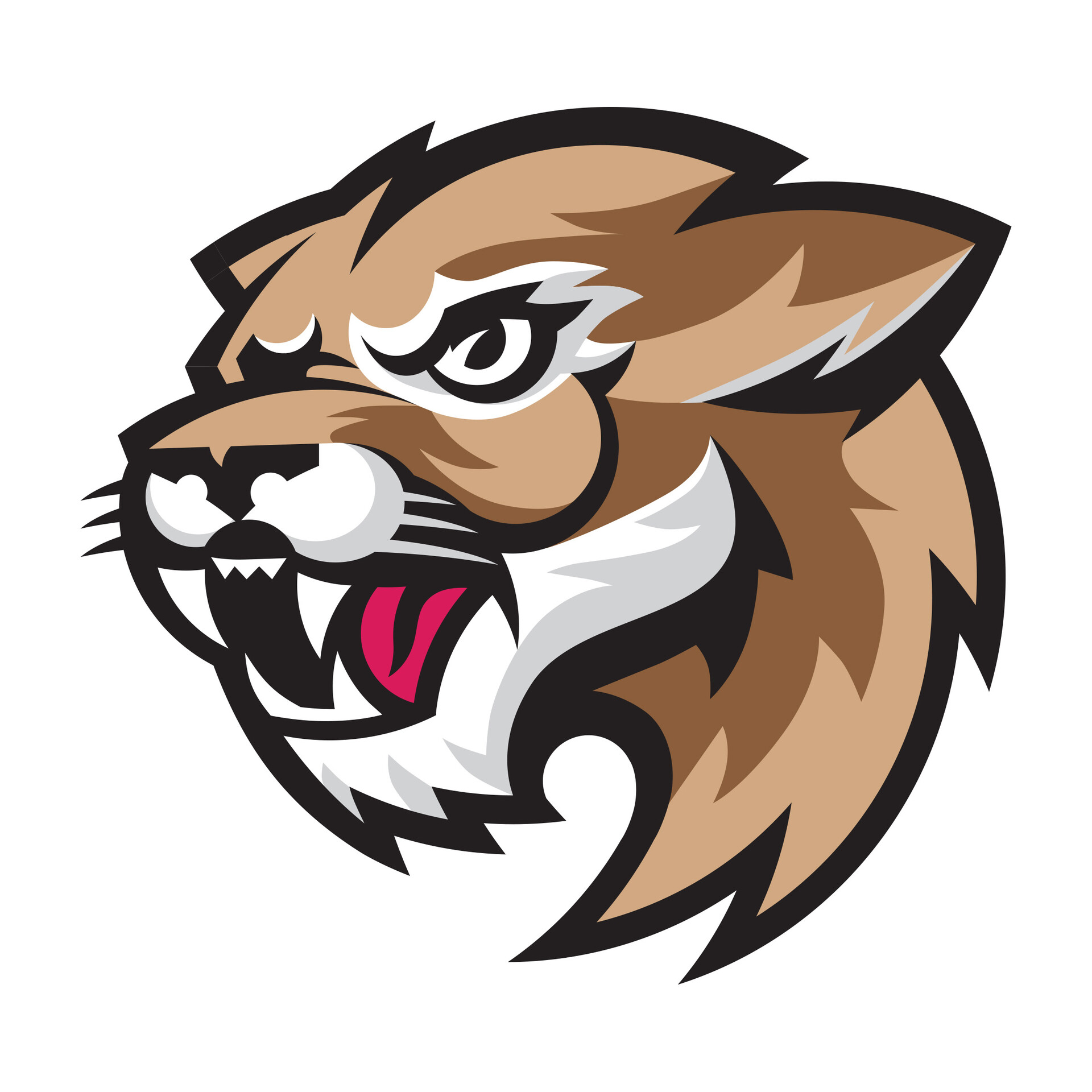Color Cougar Emblem