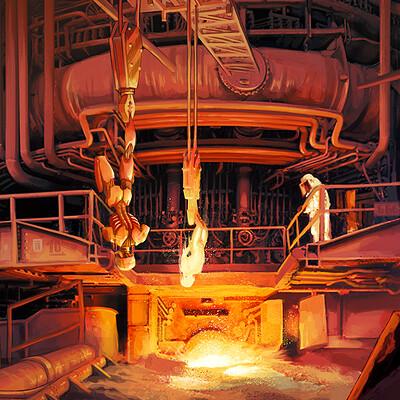 Chiara rovoletto steelmill arts