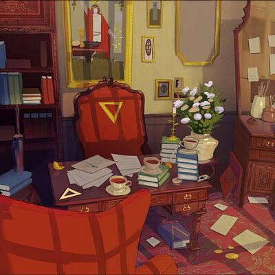 Magician's room
