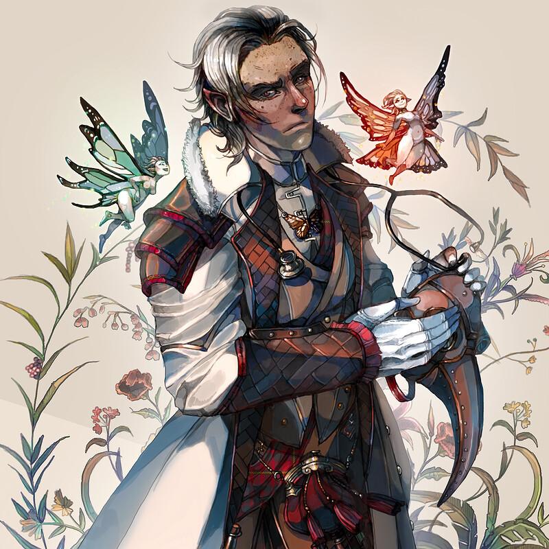 Cleric - Doctor of Fae (Talmhach MacCullach)