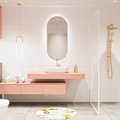 Martyna grek white gold pink bathroom final