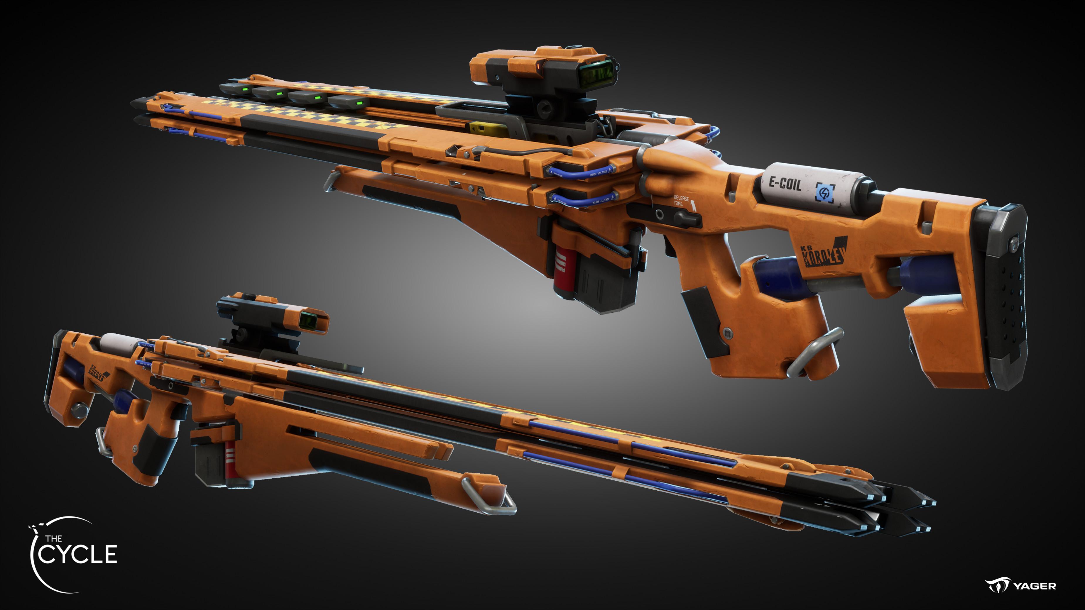 KARMA (Gauss rifle) Closed