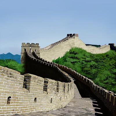 David okon great wall of china