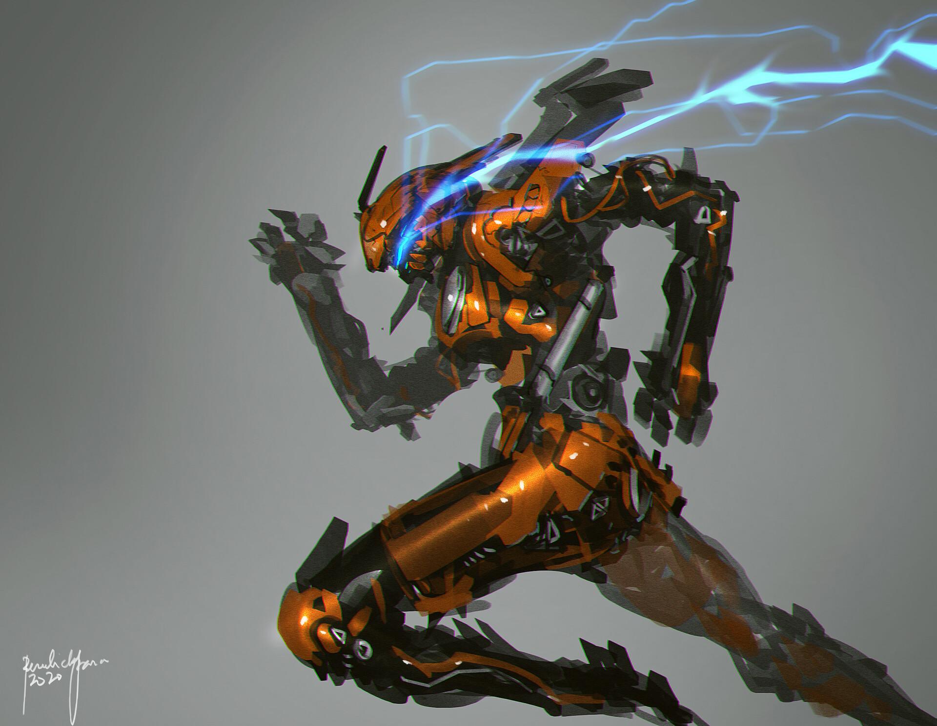 character scifi design
