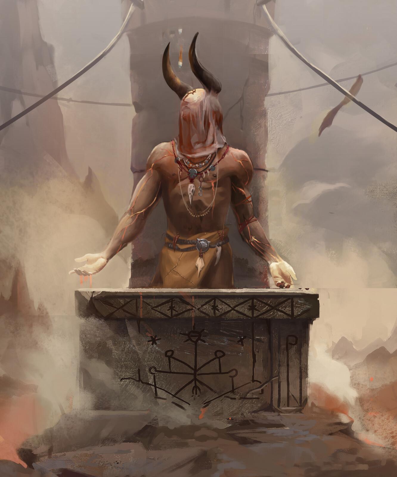 The supplicant djinn