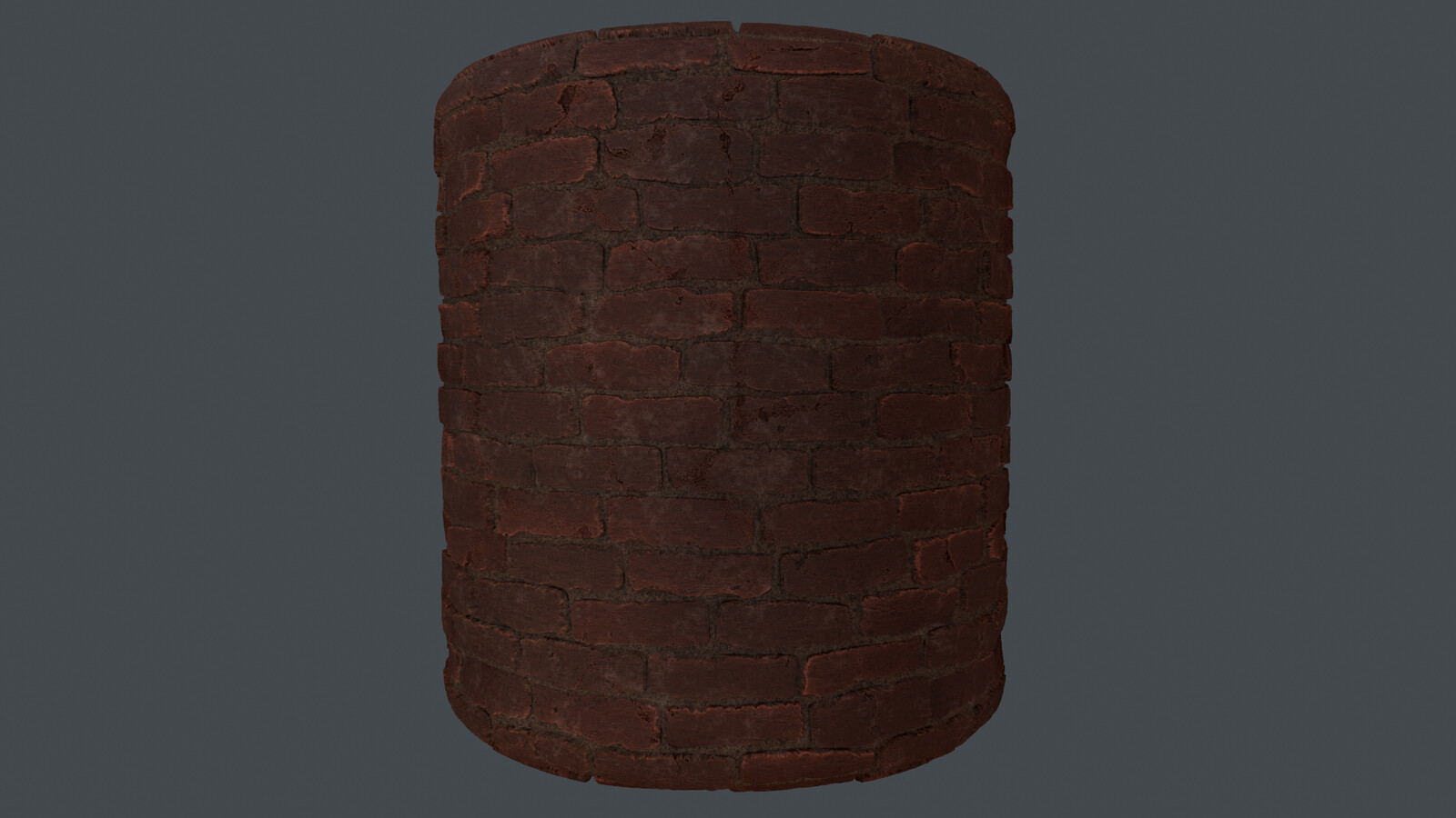 brick material made in substance designer