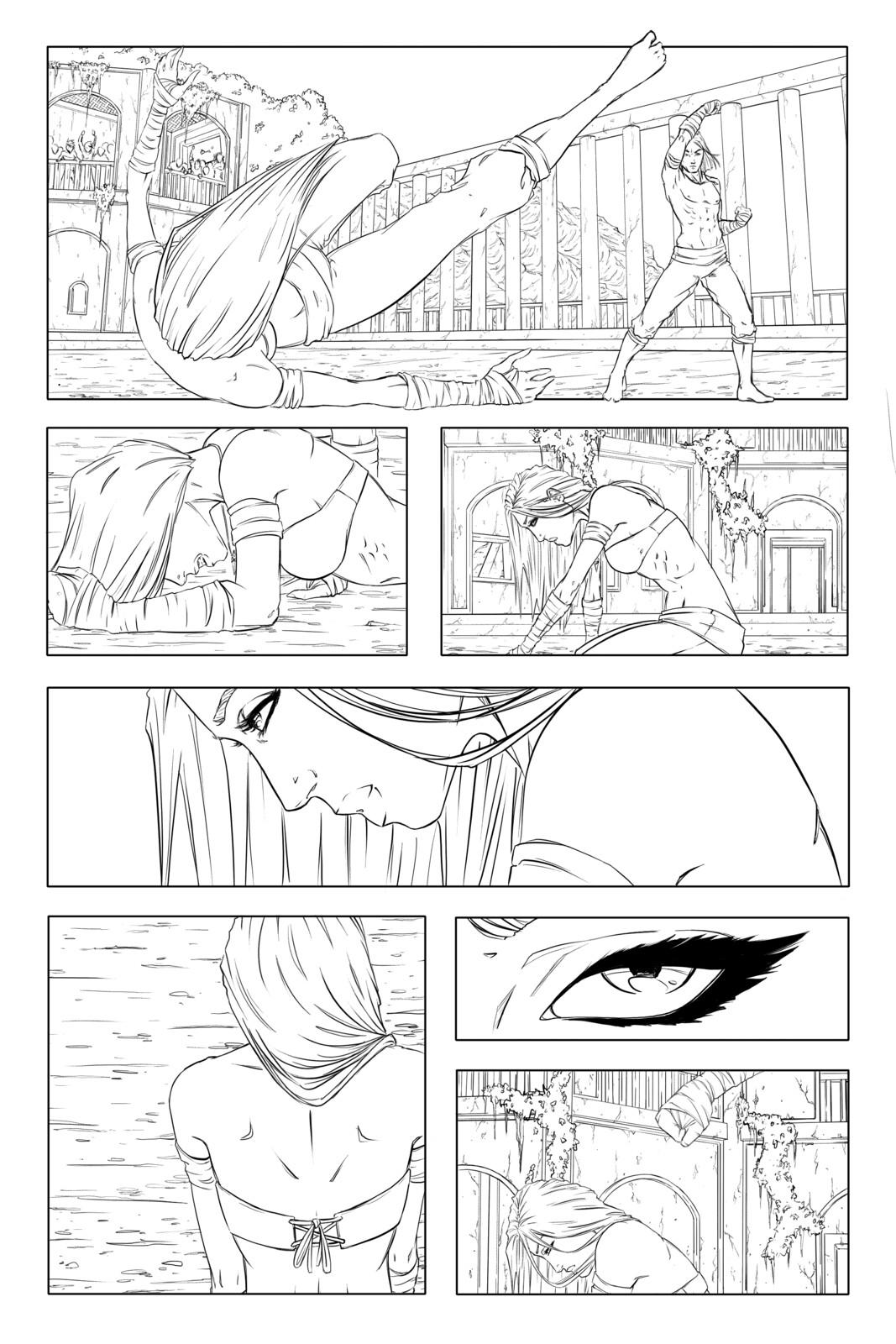 Page 6 - Line art