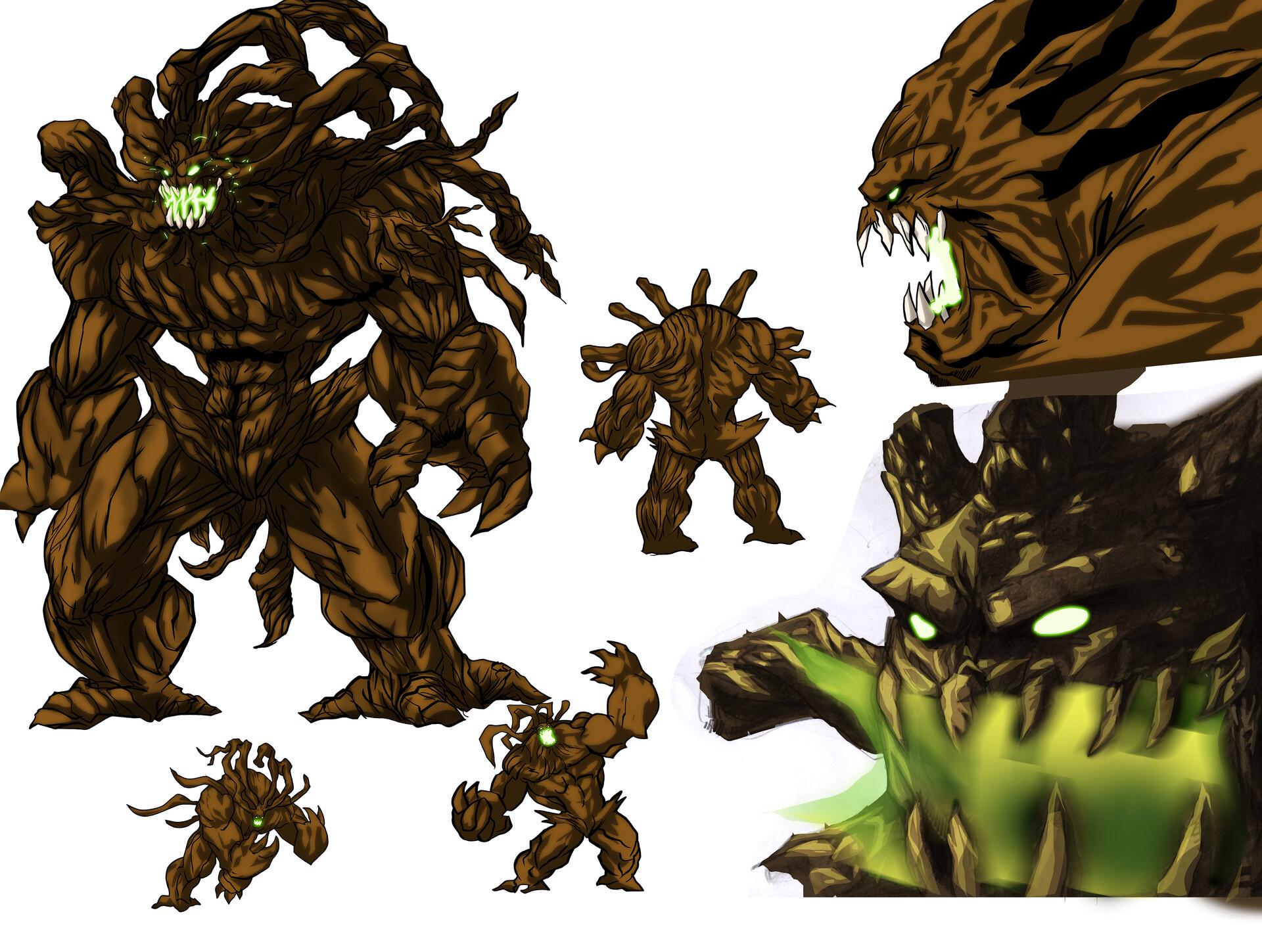 Artstation Tree Monster Character Design Andrew Henry Descarga este vector premium de cartoon tree monster pixel design y descubre más de 10 millones de recursos gráficos en freepik. artstation