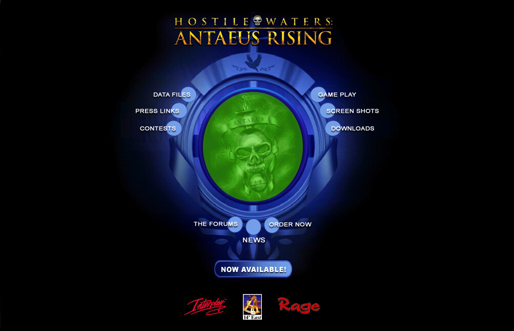 Antaeus Rising hostile waters.com