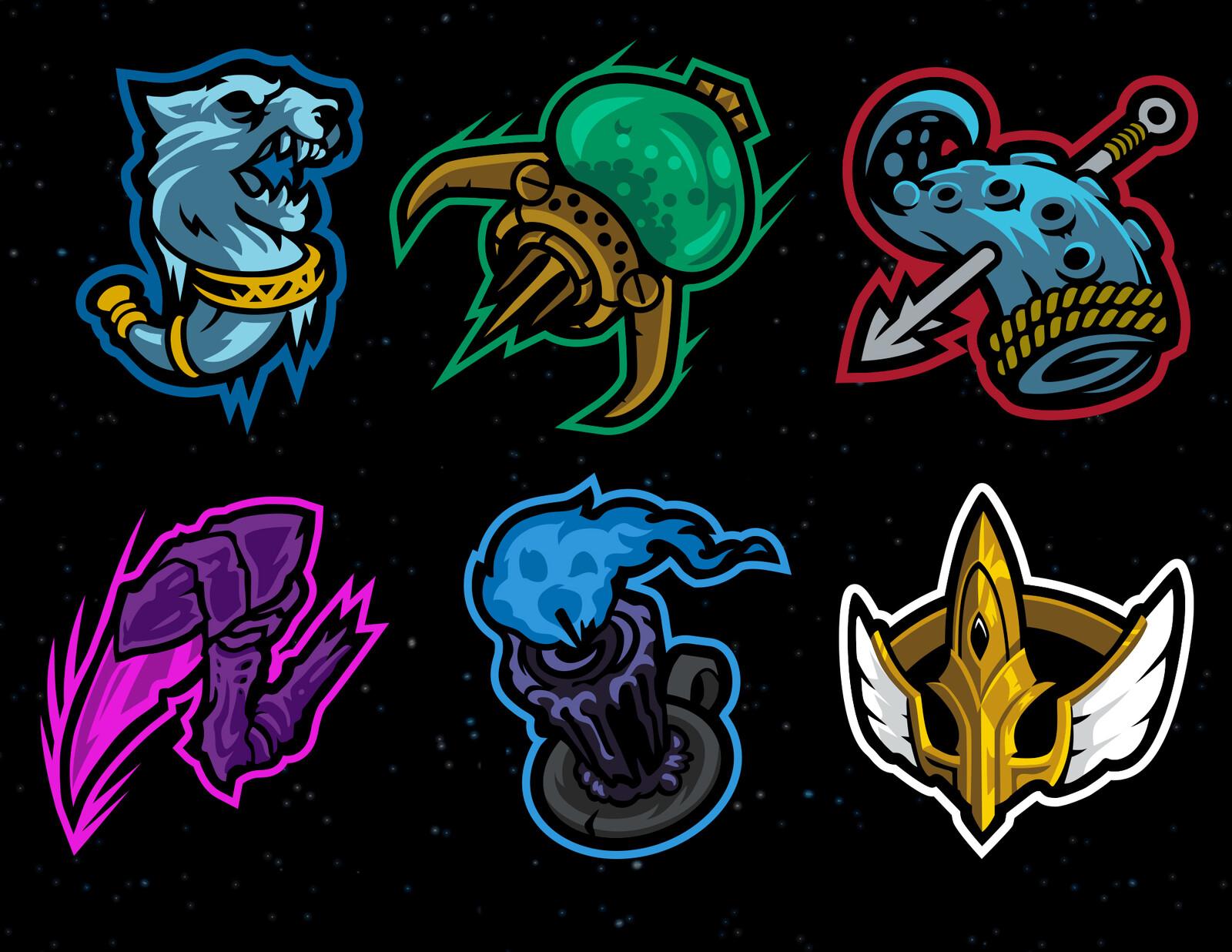 "Various logos from the ""artifact"" push"