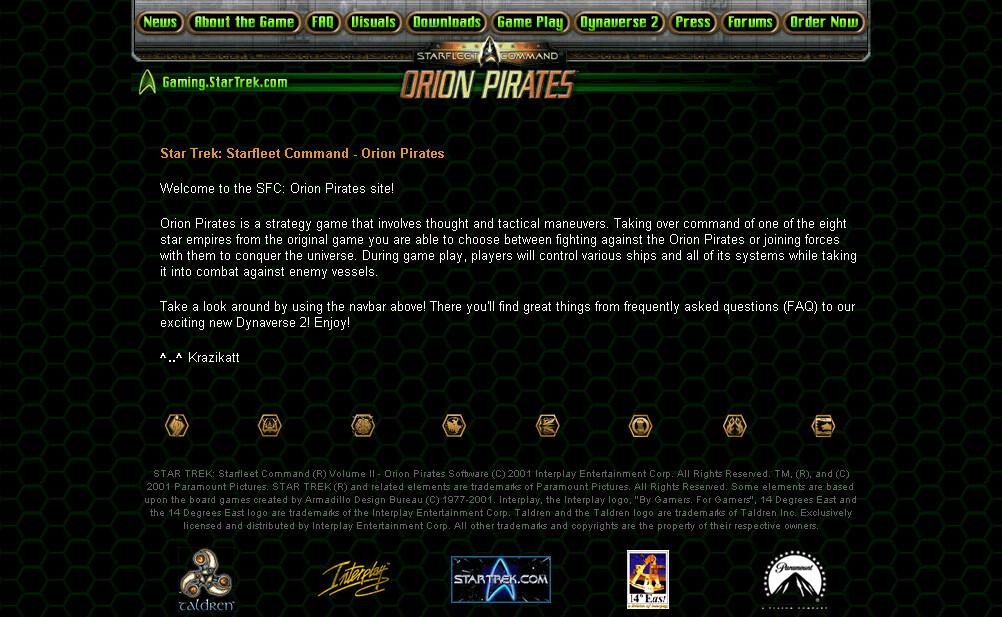 StarTrek-Orion Pirates.com