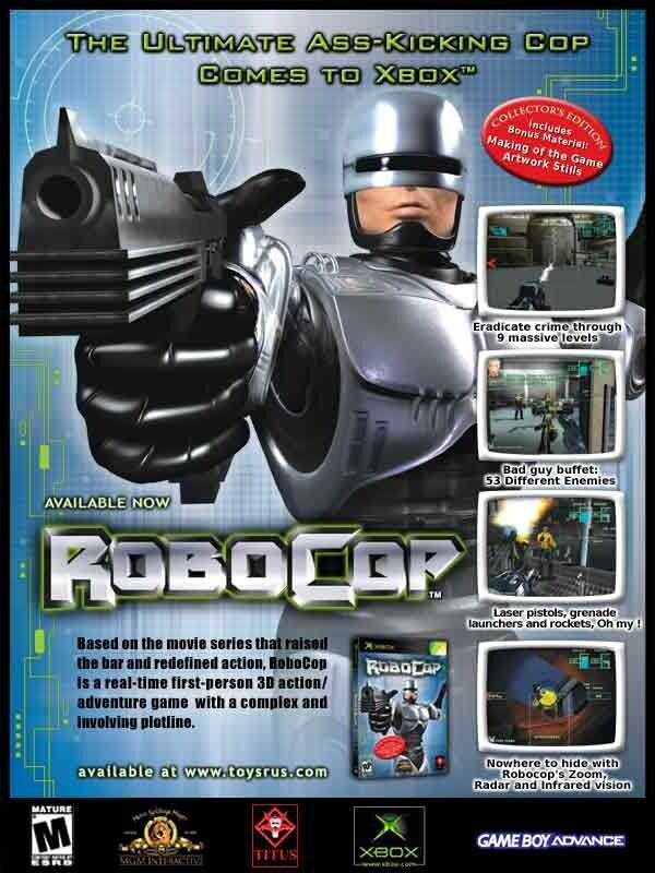 RoboCop e-mailer