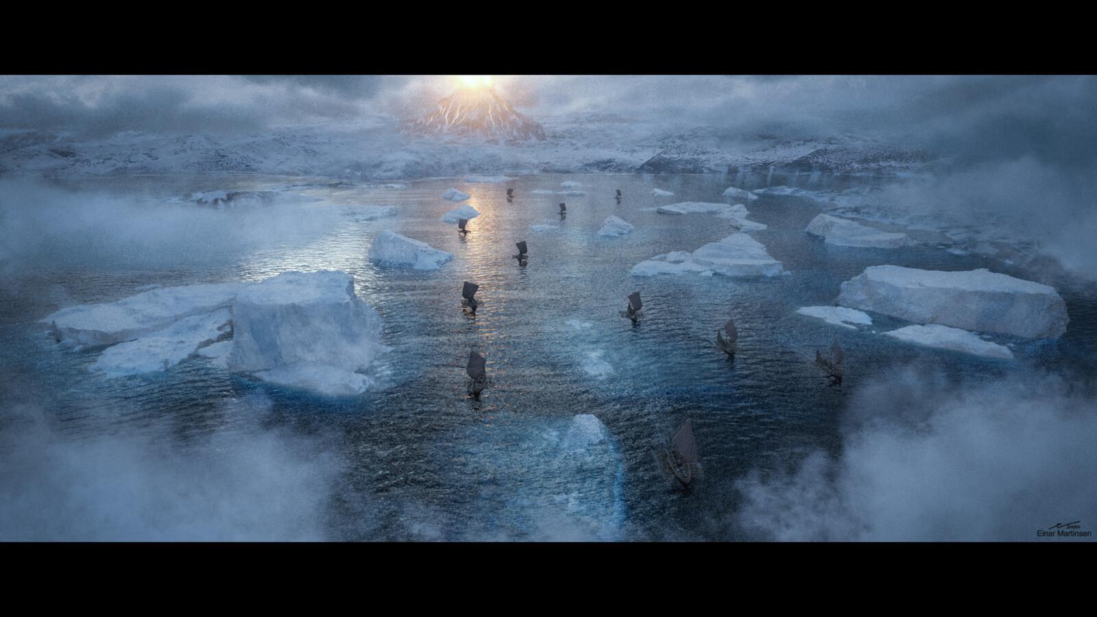 frozen volcano 002