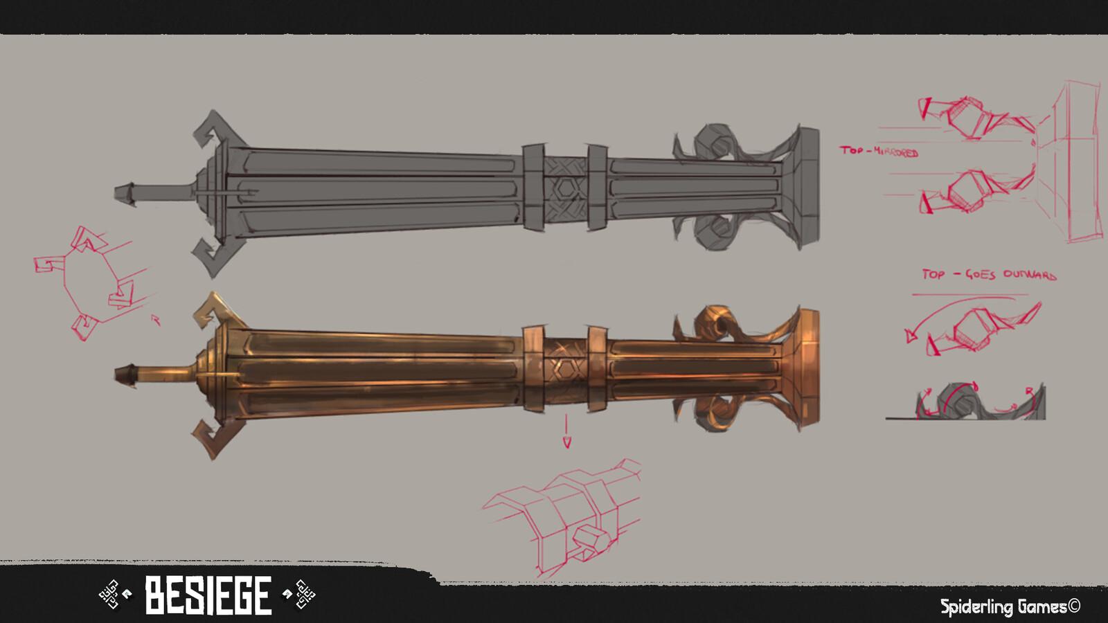 Cannon body