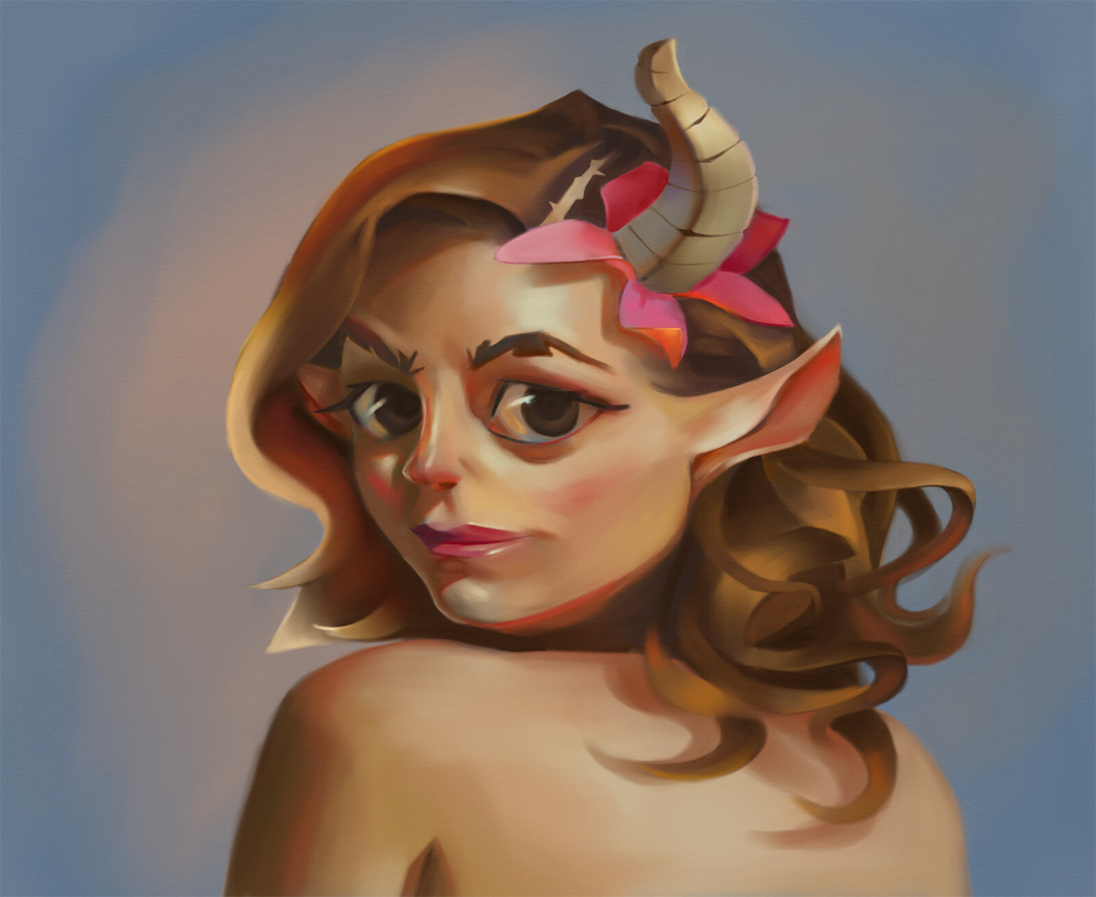 Faun Girl - Portrait