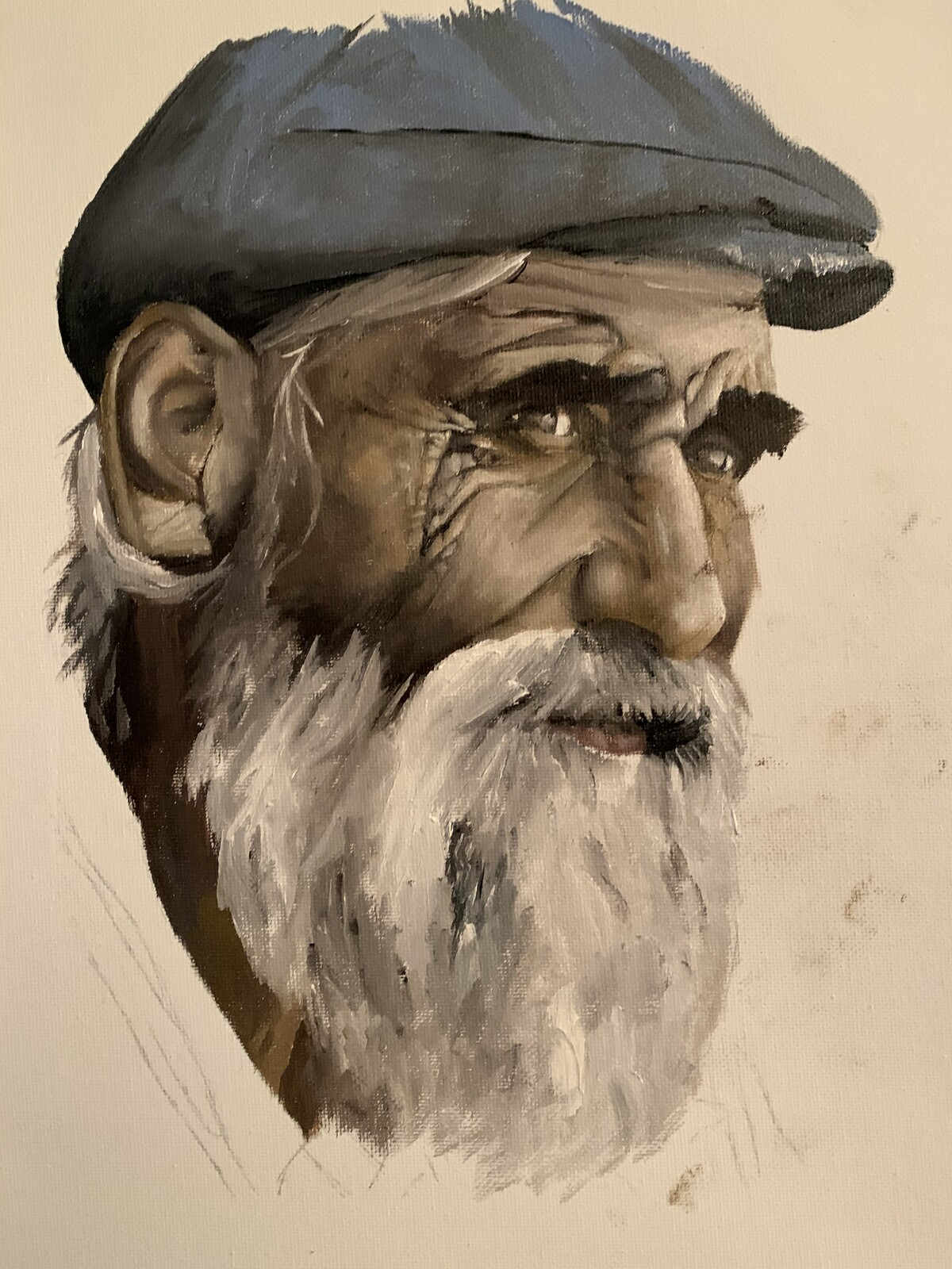 Old man oil study