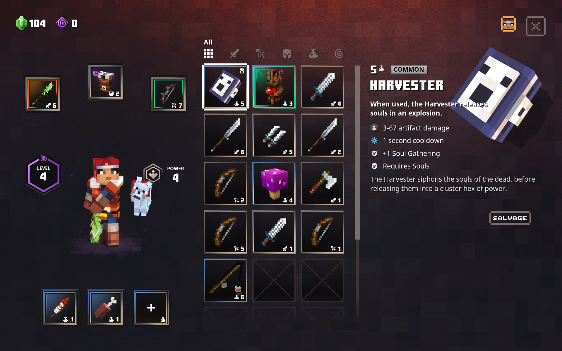 I helped render the Weapon/Armor/Artifact icons in the UI