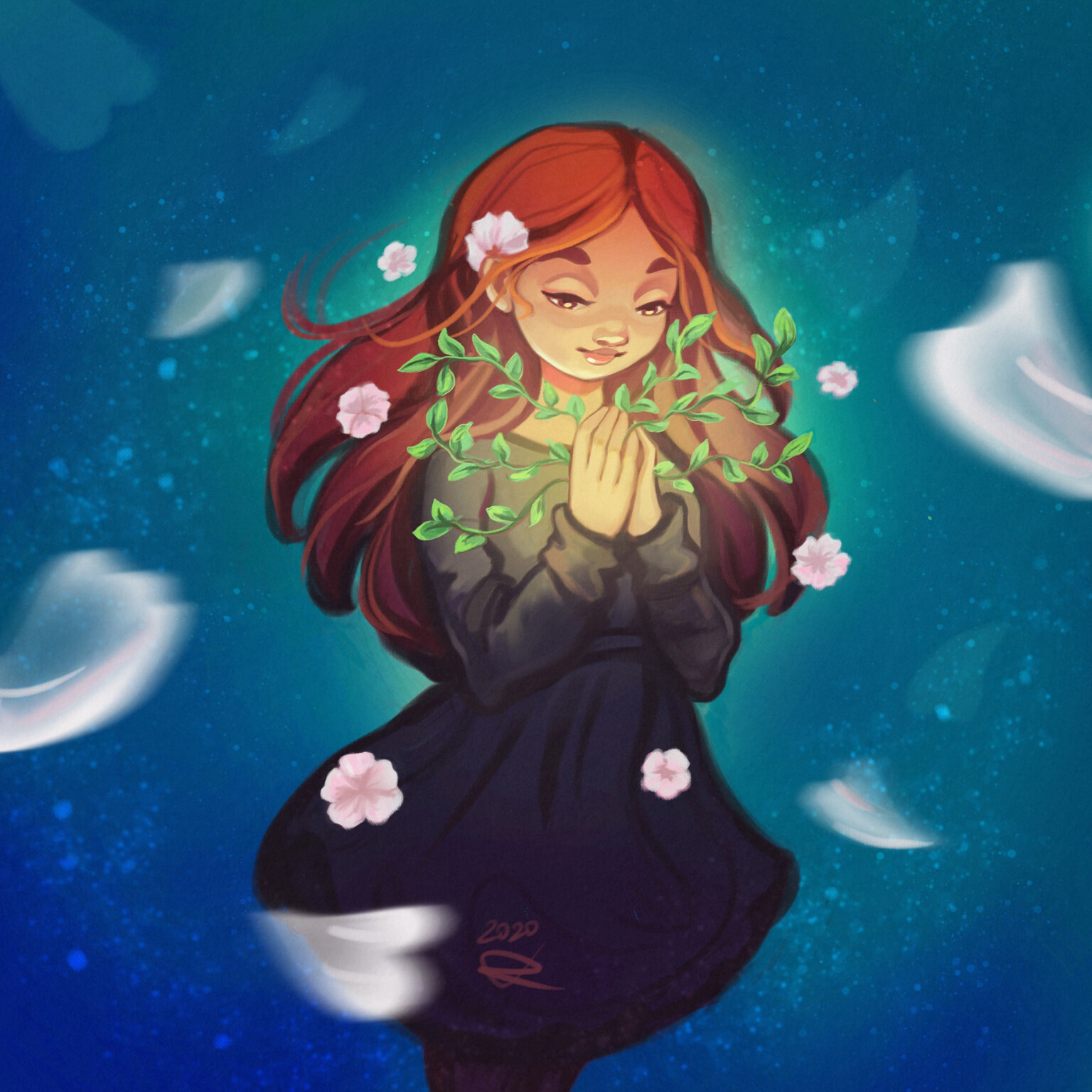 """""""Blooming"""" - Made by a DTIYS Challenge"""