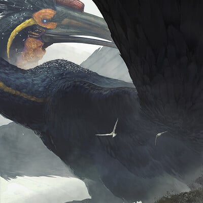 Arturo gutierrez fantasy bird process 02