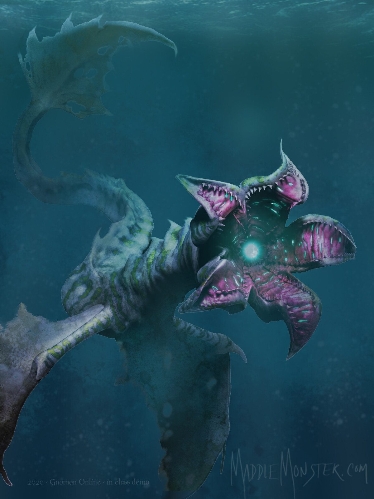 Starfish Devourer - The Lamp Mouth Leviathan