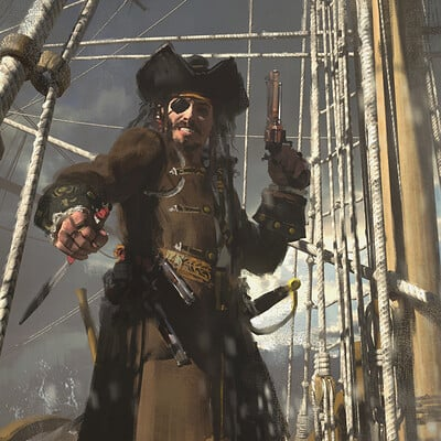 Greg danton pirate 02b logo