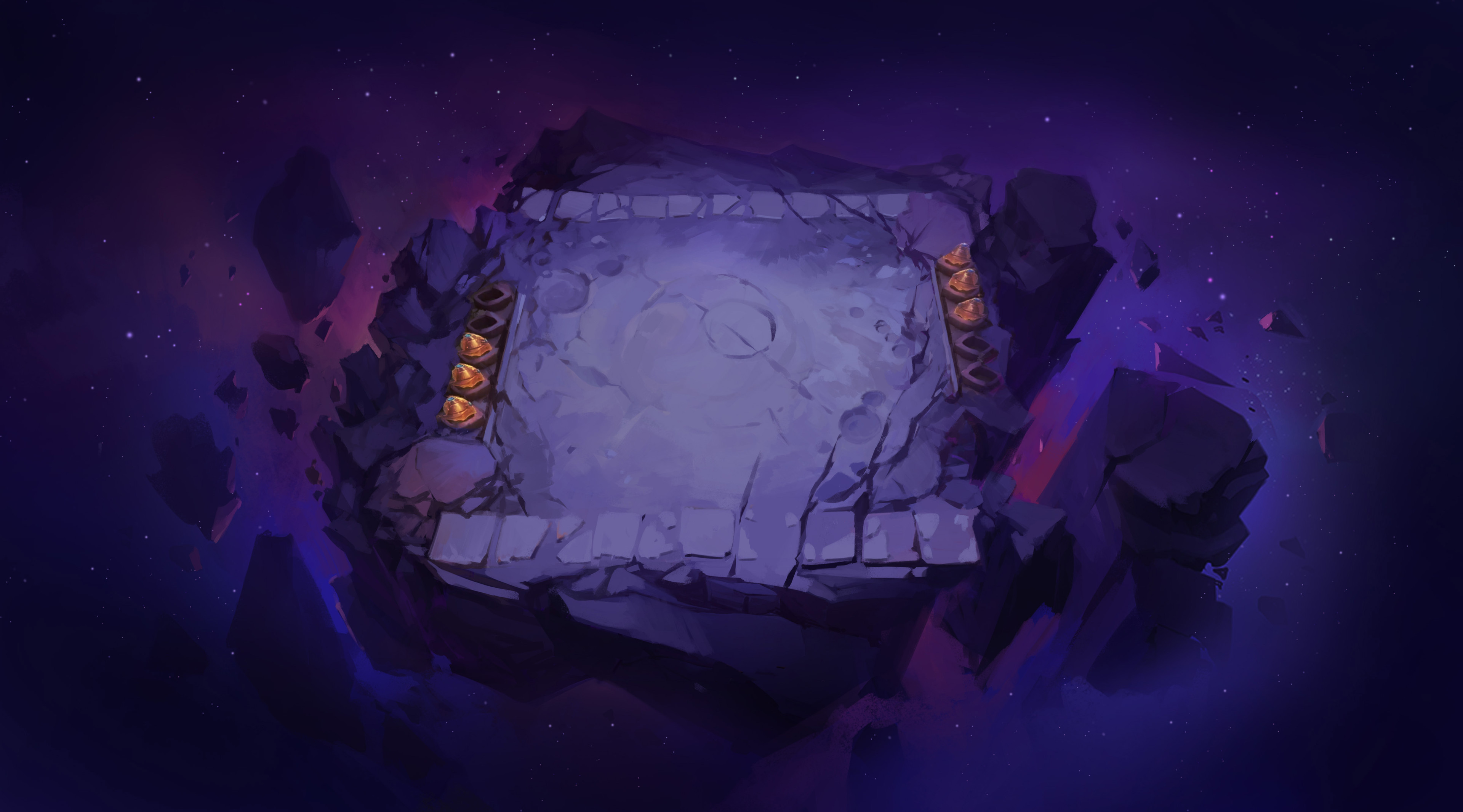Concept for an entry-level arena in outer Space (Where No One Can Hear You Scream)
