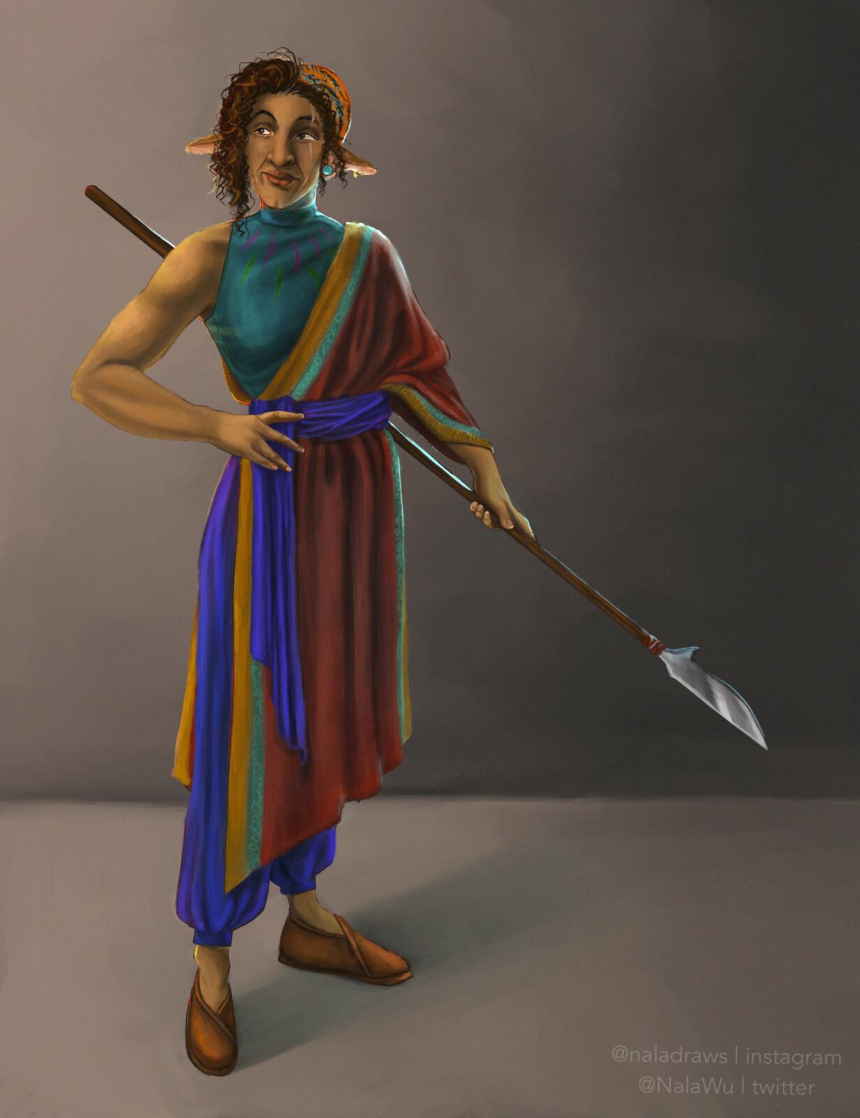Character Design - Sarona