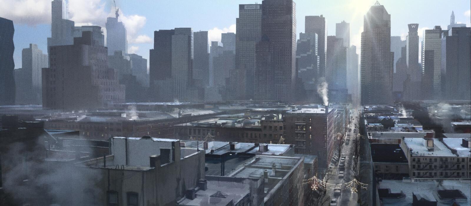 The Division 'Take Back New York' Trailer Key-frames