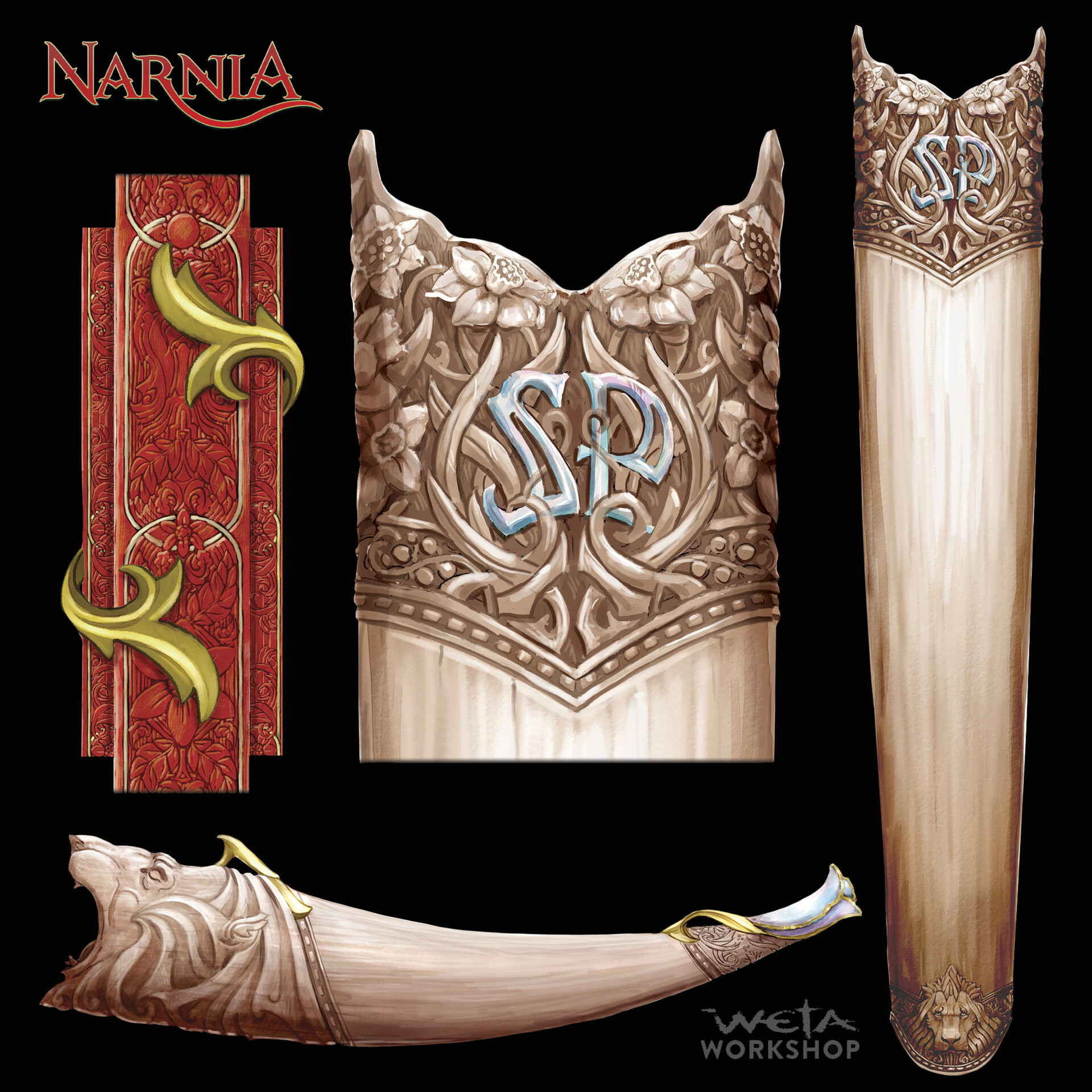 Susan's Ivory Quiver and Horn.