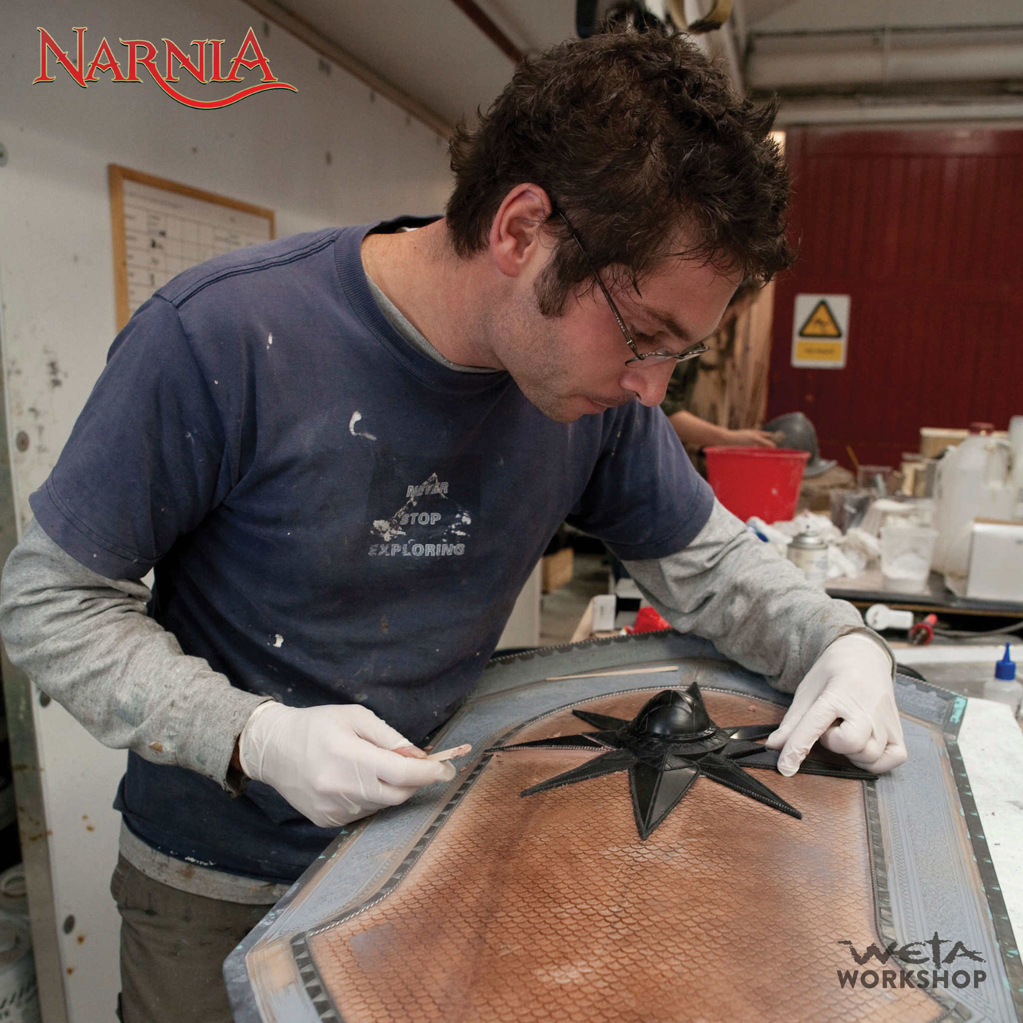 Model Maker Dan Bennett at Weta Workshop