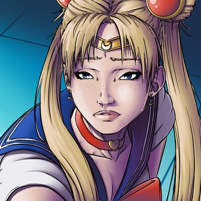 Samantha branch sailor moon color