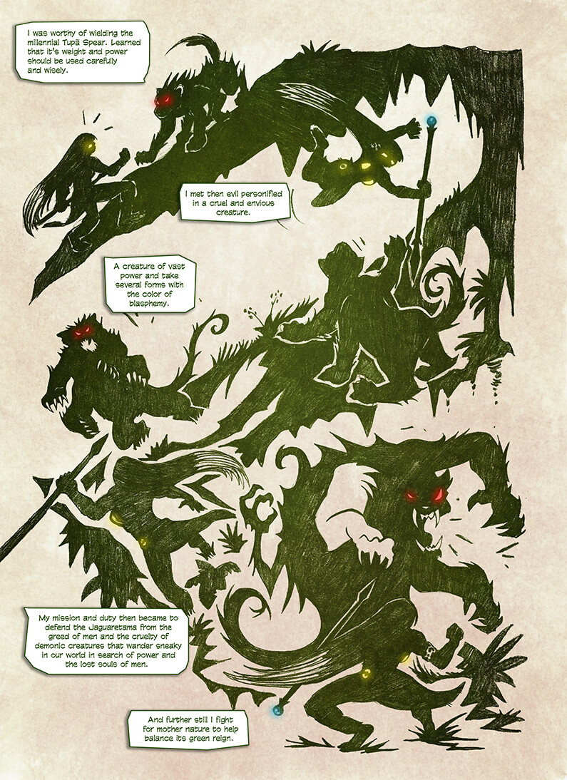 Origin of Jaguara - 3ª page