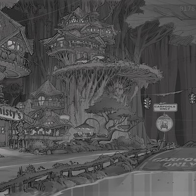 Downtown Rainforest for Zootopia