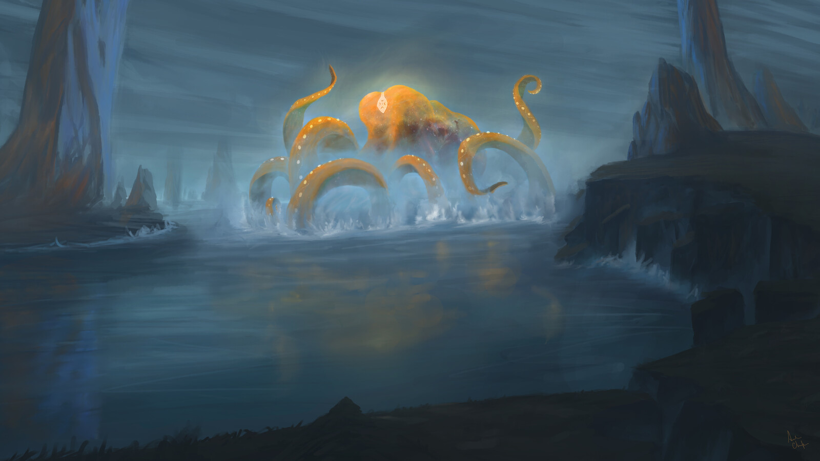 Sentinel of the Lazarian Sea