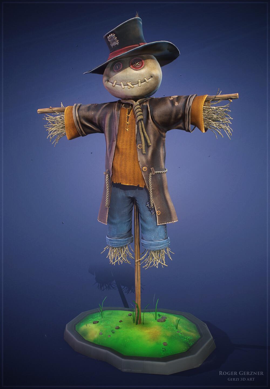 Stylized Scarecrow