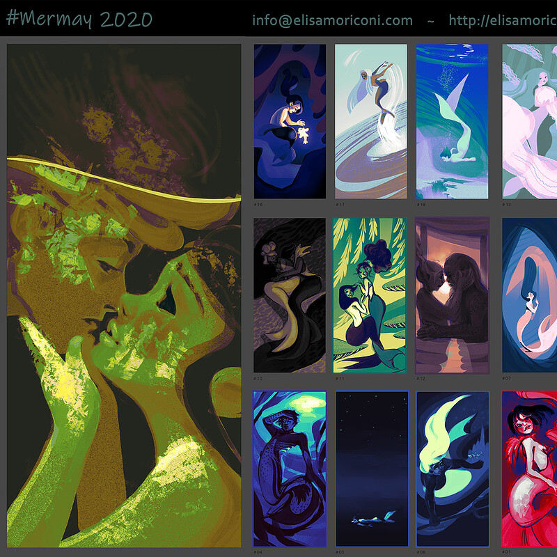 Mermaids thumbnails 1 ~ 33
