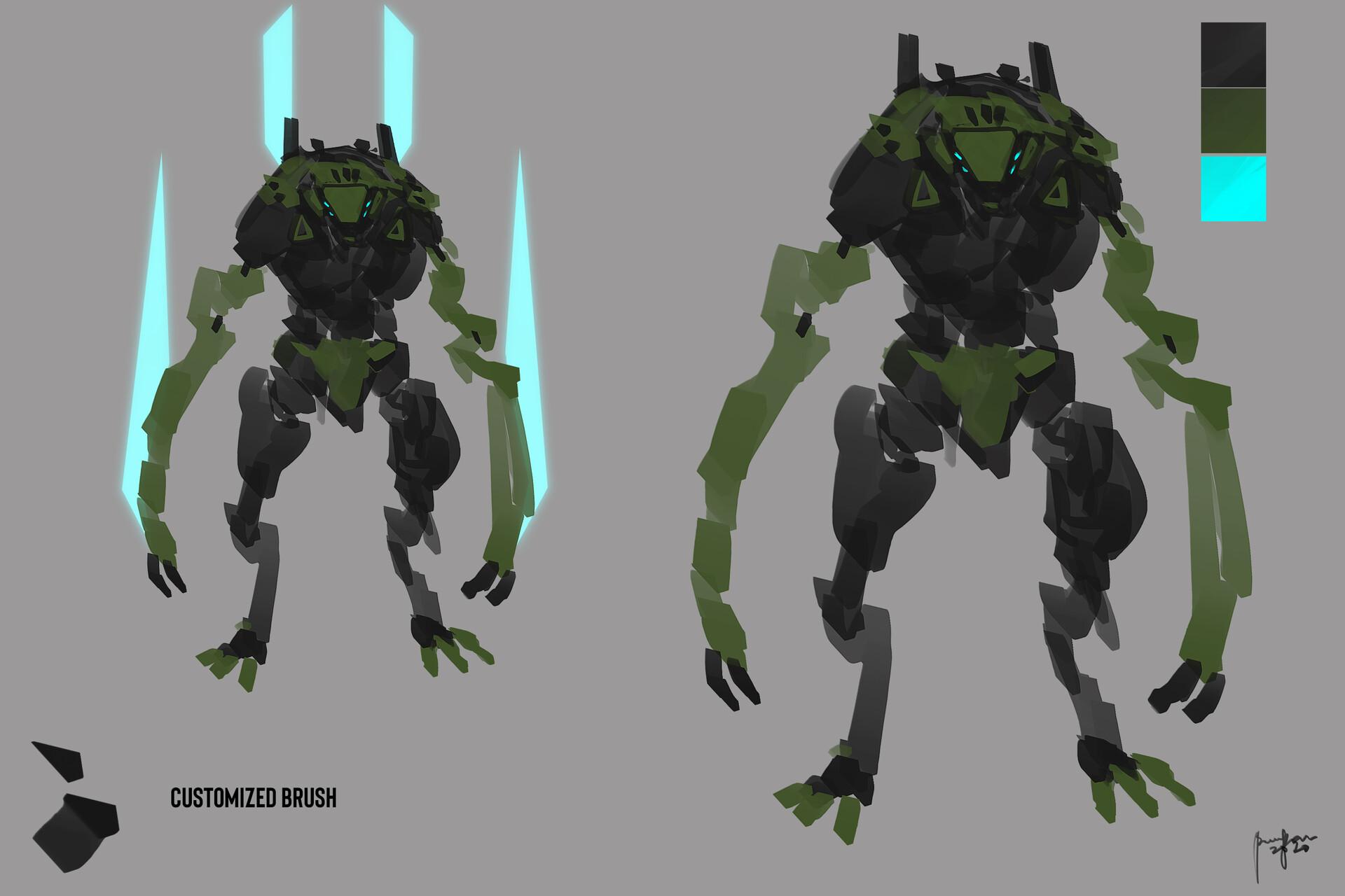 Mechanized Feral Concept BRAWL