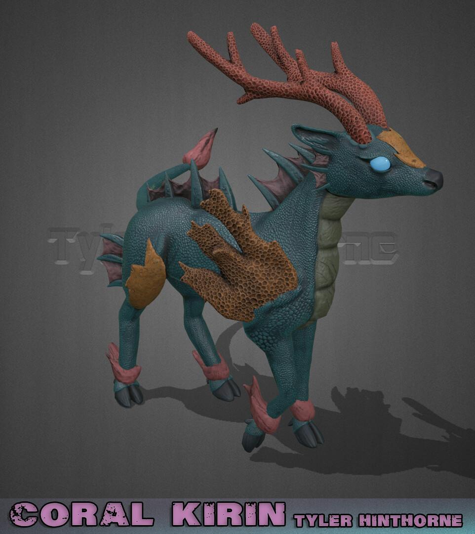 Coral Kirin - Creature Model