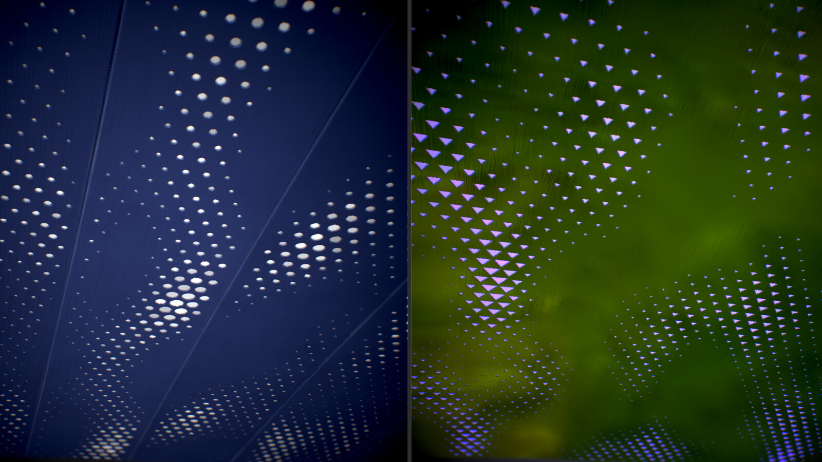 Another ceiling panel thats both decorative and ambient lighting. Works for walls too.