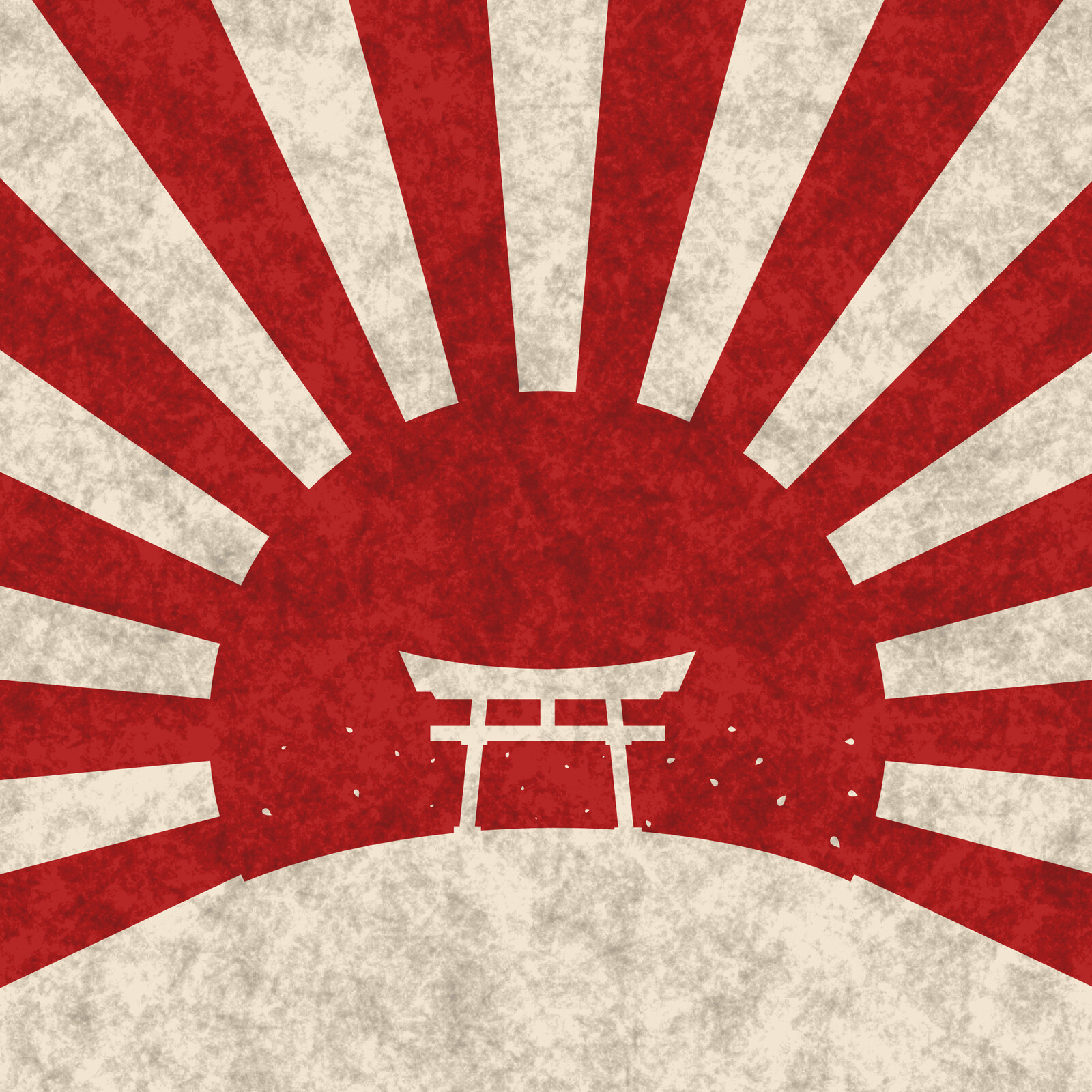 Shinto - 2D vector art made in Affinity