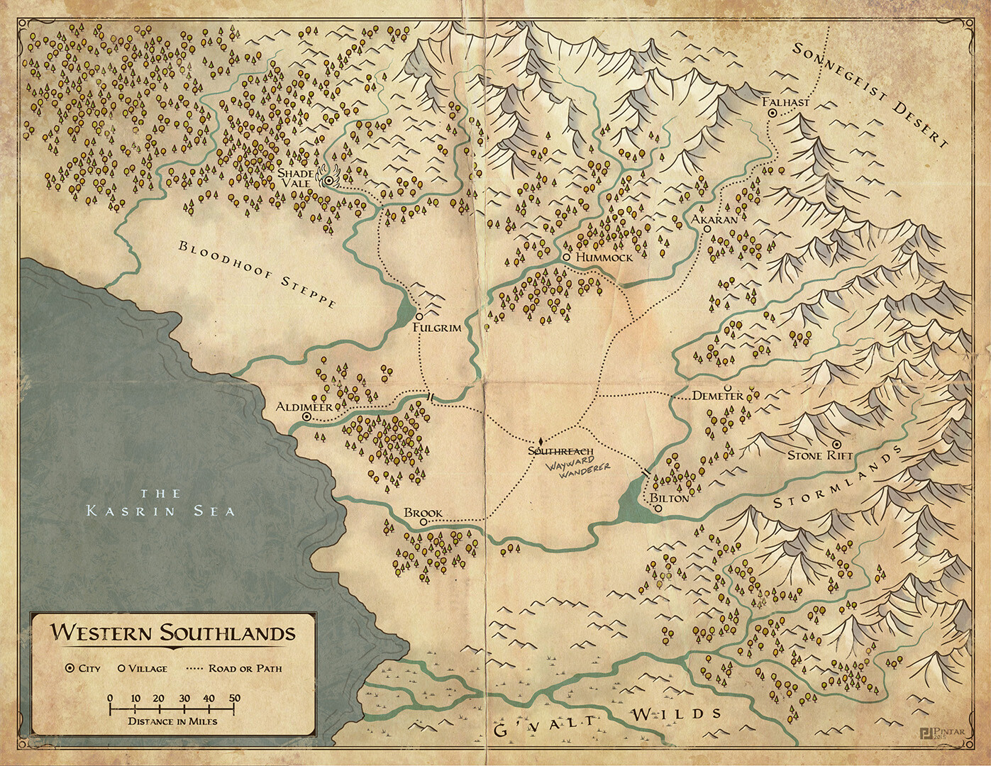Provokers map