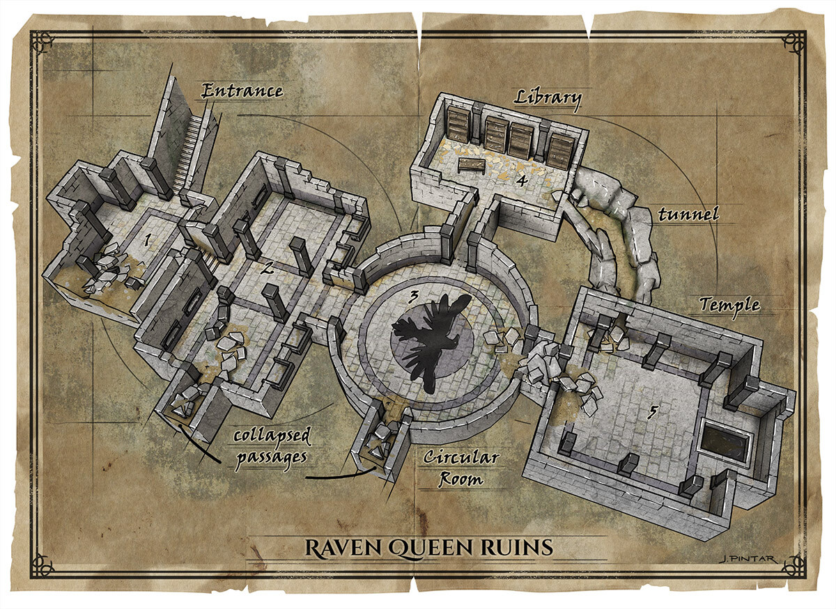 Temple of the Raven Queen