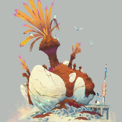 Victorin ripert bombadil palm tree