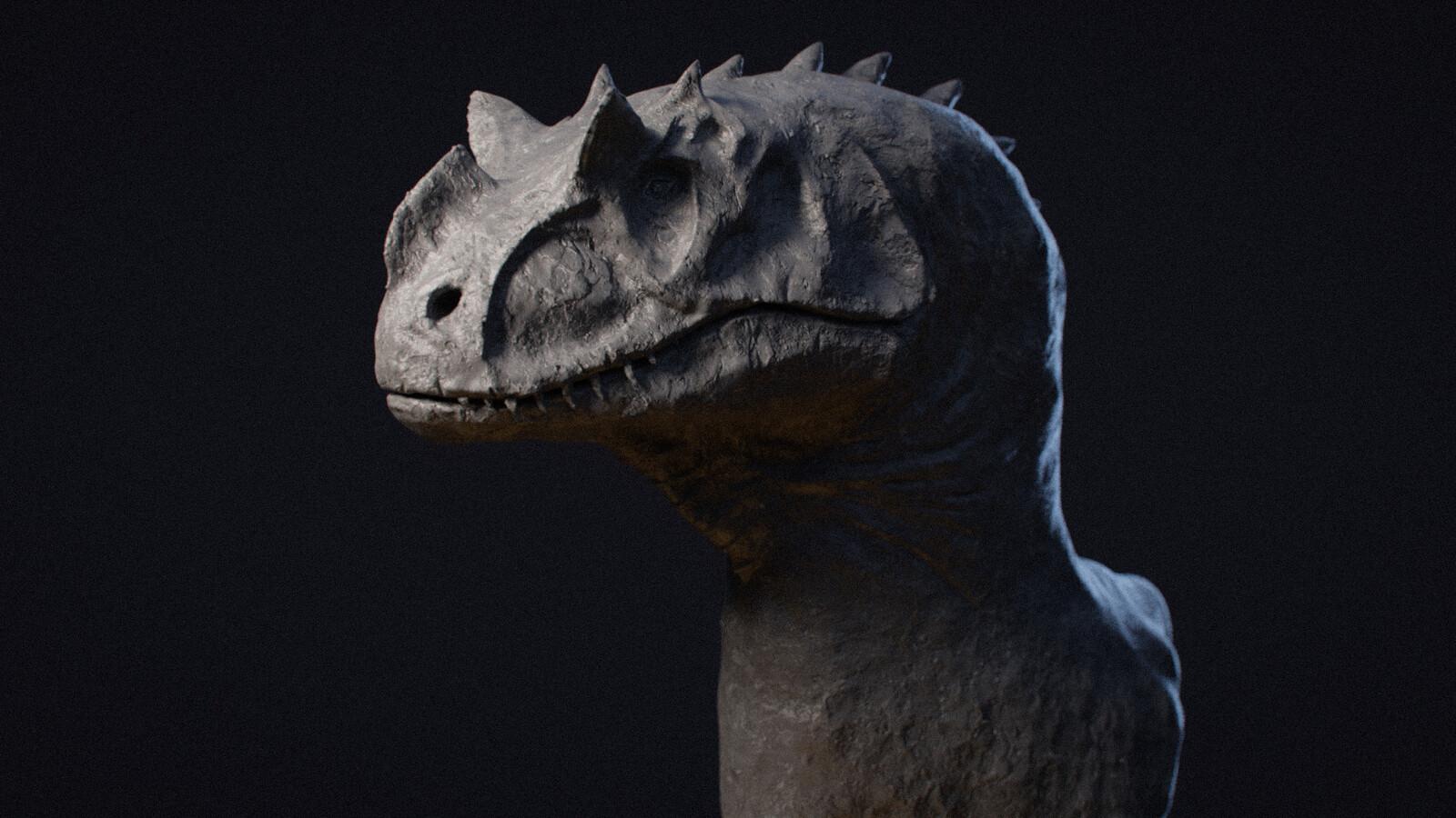 Dinosaur VR sketch
