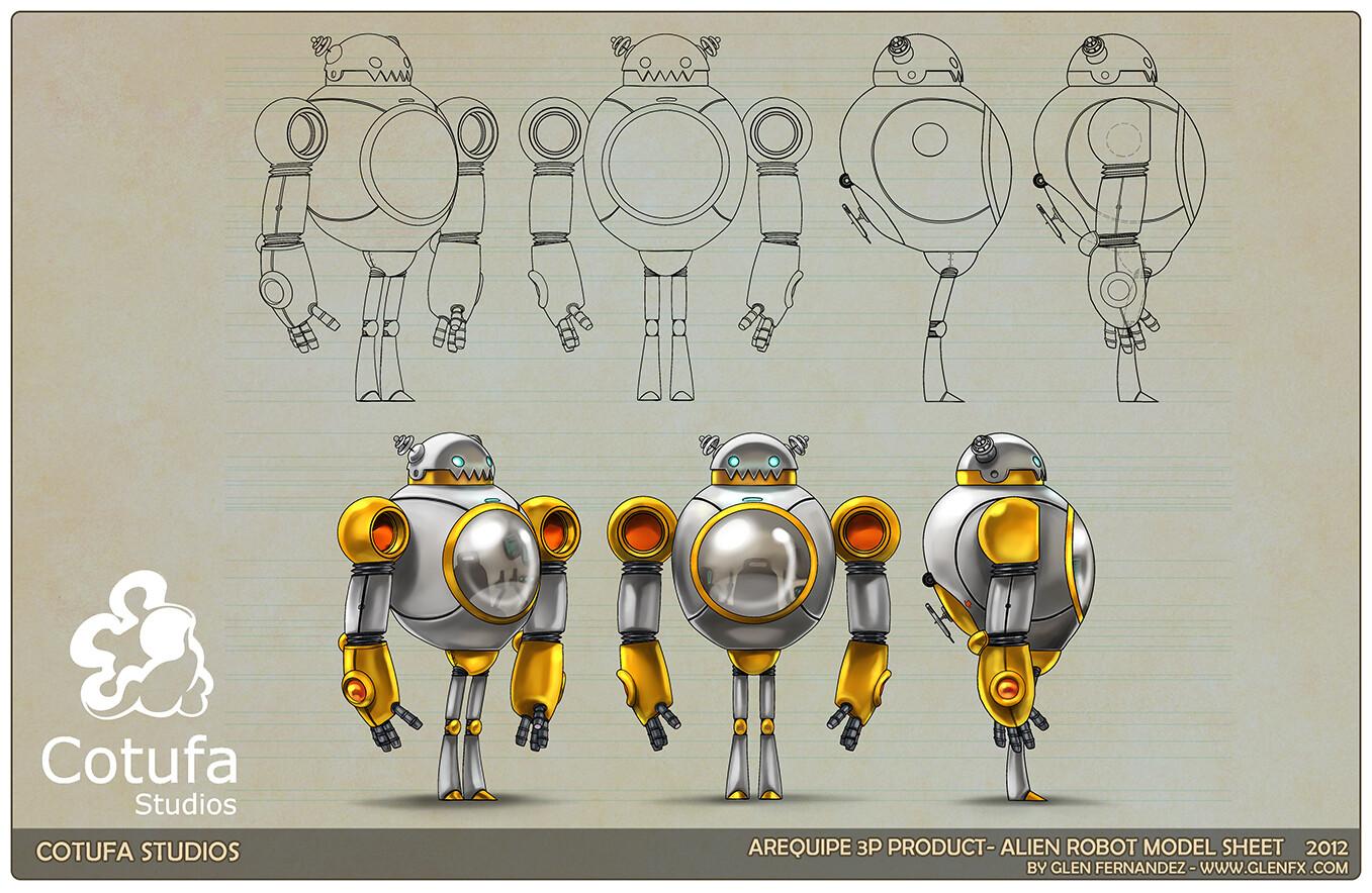 Robot Model sheet.