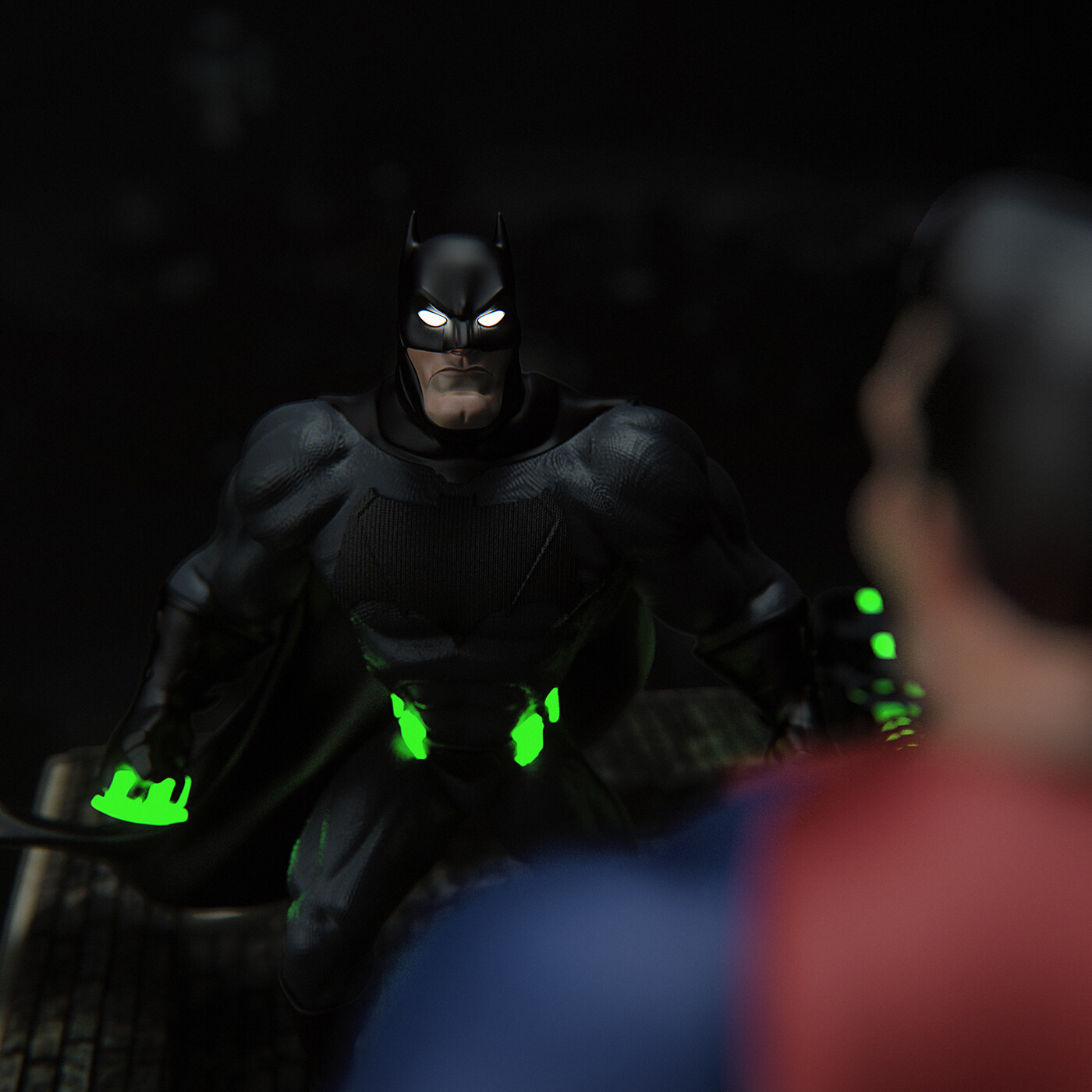 Batman: Tell me…Do you bleed?